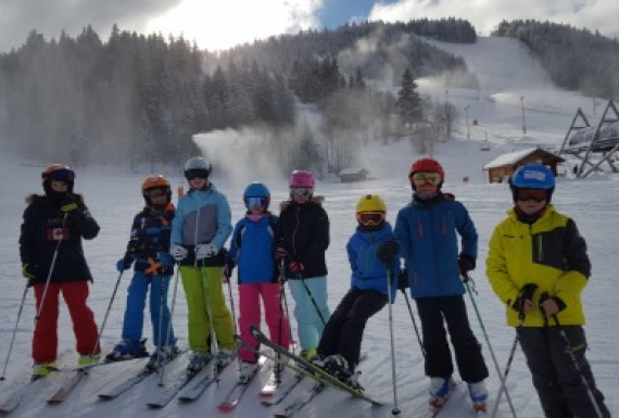 École Saint-Exupéry - Ski Camp 7-8P, January 2019